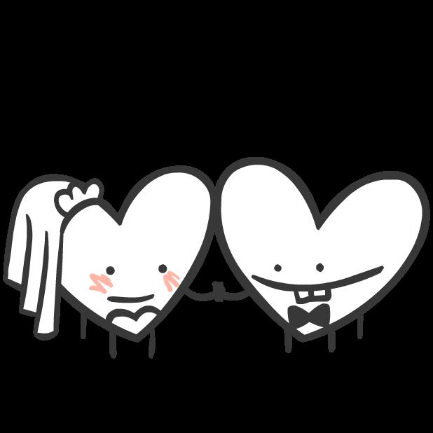 Heart Valentine Stickers messages sticker-1