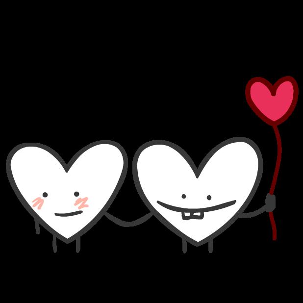 Heart Valentine Stickers messages sticker-10