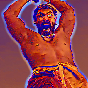 Bahubali Stickers messages sticker-1