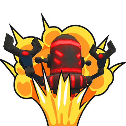 Explodey: Sci-Fi Side Scroller messages sticker-2