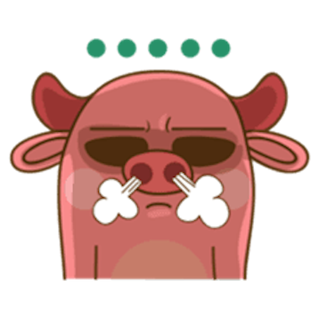 Funny Angry Pig messages sticker-3