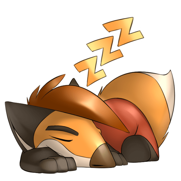Digger the Fox Stickers for iMessage messages sticker-1