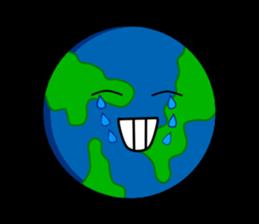 Earth Emoji Sticker messages sticker-9