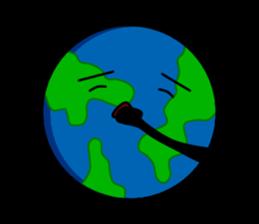 Earth Emoji Sticker messages sticker-1