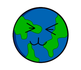 Earth Emoji Sticker messages sticker-8