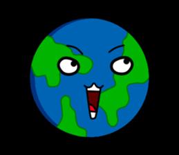 Earth Emoji Sticker messages sticker-3