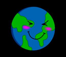 Earth Emoji Sticker messages sticker-6