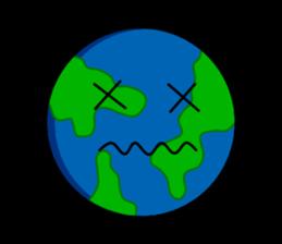 Earth Emoji Sticker messages sticker-7