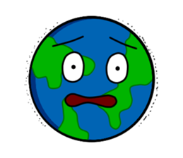 Earth Emoji Sticker messages sticker-10