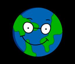 Earth Emoji Sticker messages sticker-5