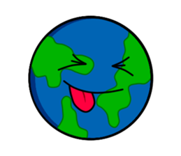 Earth Emoji Sticker messages sticker-11