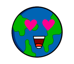 Earth Emoji Sticker messages sticker-0