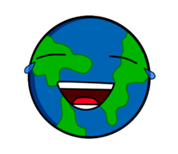 Earth Emoji Sticker messages sticker-2