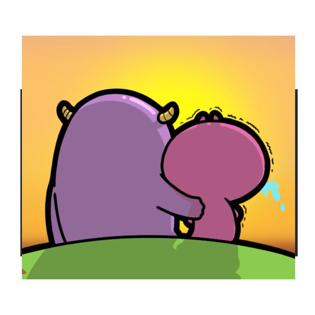 Characworld Friend Sticker messages sticker-9