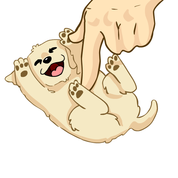 Larry the Lab - Animated Stickers messages sticker-2