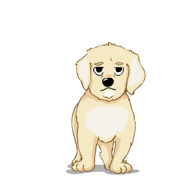 Larry the Lab - Animated Stickers messages sticker-5