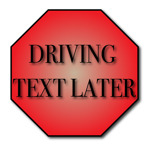 "No More ""Distracted Driving"" messages sticker-1"
