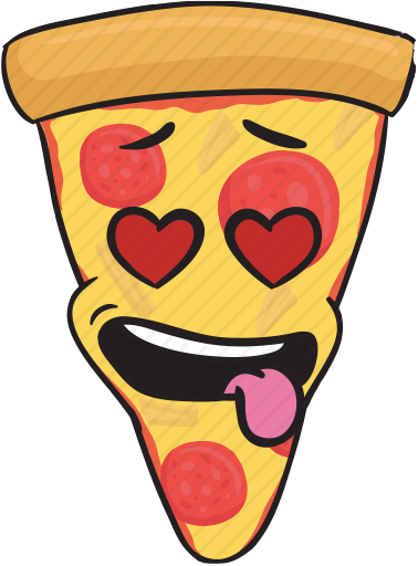 PizzaMoji - pizza stickers and emojis keyboard app messages sticker-3