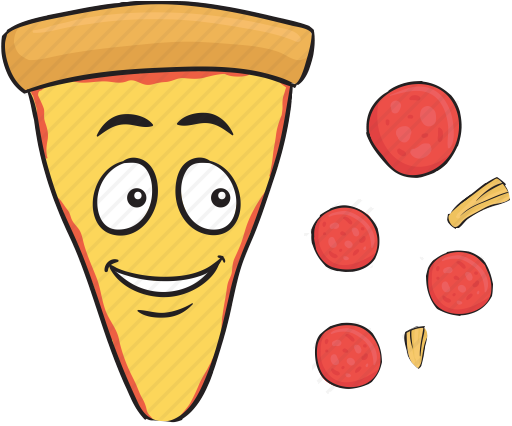 PizzaMoji - pizza stickers and emojis keyboard app messages sticker-4
