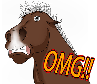 Horsemoji. Stickers by Design111 messages sticker-8