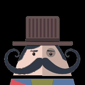 Mr. Mustachio 2 messages sticker-7
