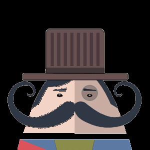 Mr. Mustachio 2 messages sticker-6