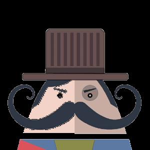 Mr. Mustachio 2 messages sticker-4