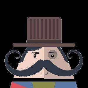 Mr. Mustachio 2 messages sticker-9