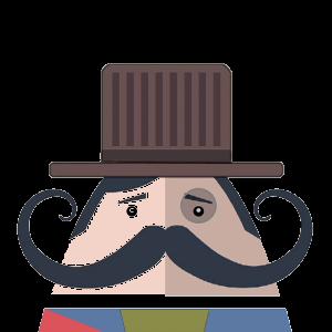 Mr. Mustachio 2 messages sticker-8