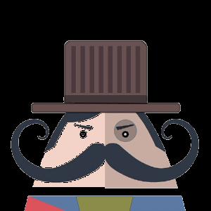 Mr. Mustachio 2 messages sticker-11