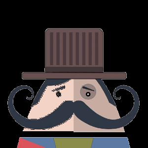 Mr. Mustachio 2 messages sticker-10