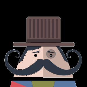 Mr. Mustachio 2 messages sticker-5