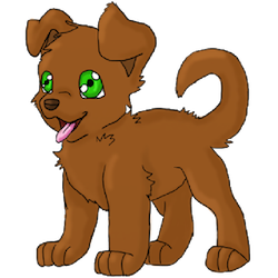 Cute Dogs Stick messages sticker-5