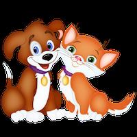 Cute Dogs Stick messages sticker-1