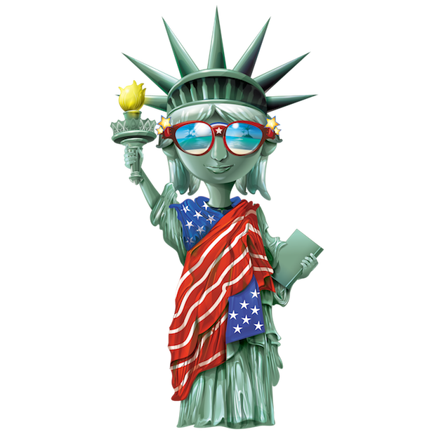 USAmoji - 4th Of July Stickers For Photos messages sticker-0