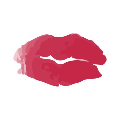 Kiss my lips stickers messages sticker-6