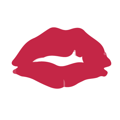 Kiss my lips stickers messages sticker-0