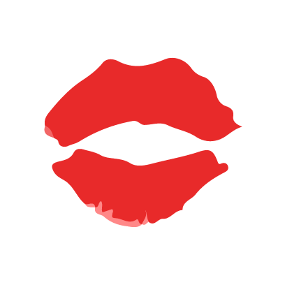Kiss my lips stickers messages sticker-3