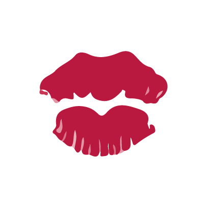 Kiss my lips stickers messages sticker-5