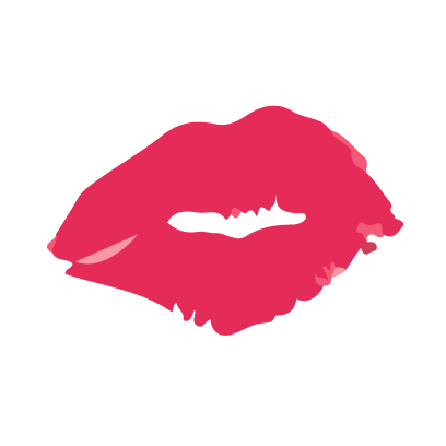 Kiss my lips stickers messages sticker-4