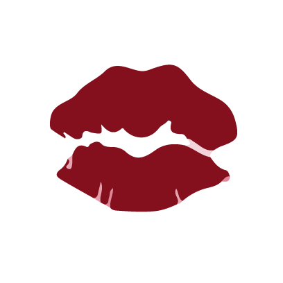 Kiss my lips stickers messages sticker-11