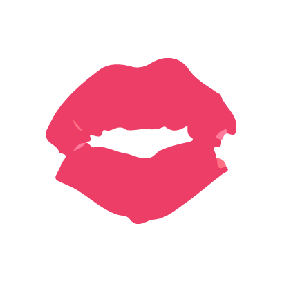 Kiss my lips stickers messages sticker-8