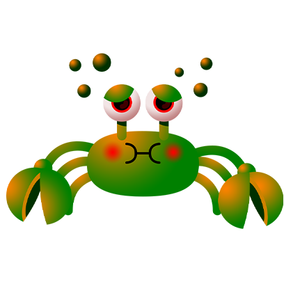 Coco Crab messages sticker-3