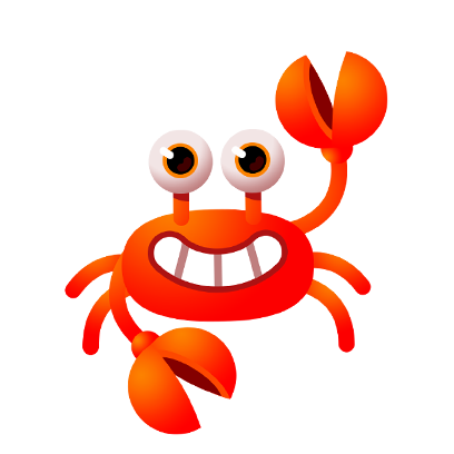 Coco Crab messages sticker-0