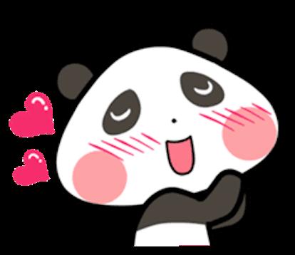 Baby Panda Emoji messages sticker-11