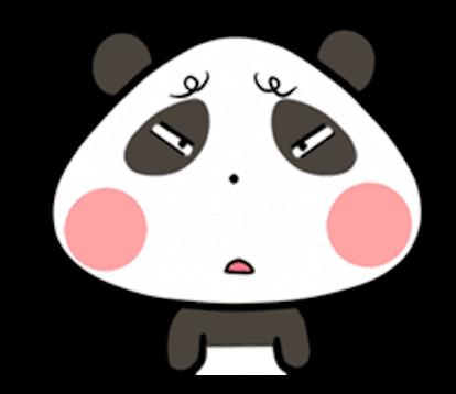 Baby Panda Emoji messages sticker-6
