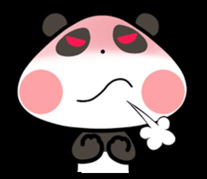 Baby Panda Emoji messages sticker-8
