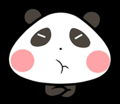Baby Panda Emoji messages sticker-3