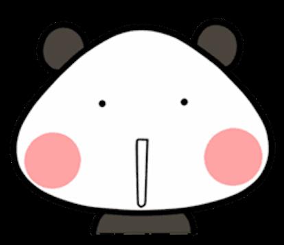 Baby Panda Emoji messages sticker-5