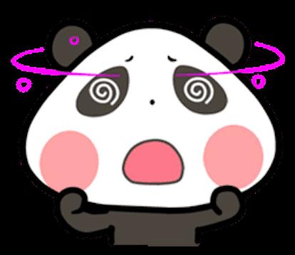 Baby Panda Emoji messages sticker-4